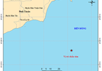 Earthquake hits off Binh Thuan coast, no tsunami warning