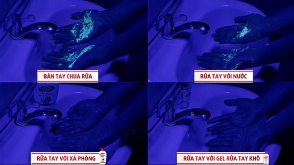 Video cho thấy không chỉ trong dịch mới cần rửa tay