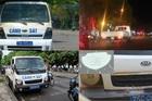 Loạt xe công an phường không có kiểm định ở Huế là do cán bộ quên