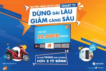 Ứng dụng MyTV giảm giá khủng, chỉ còn từ 20.000 đồng/tháng