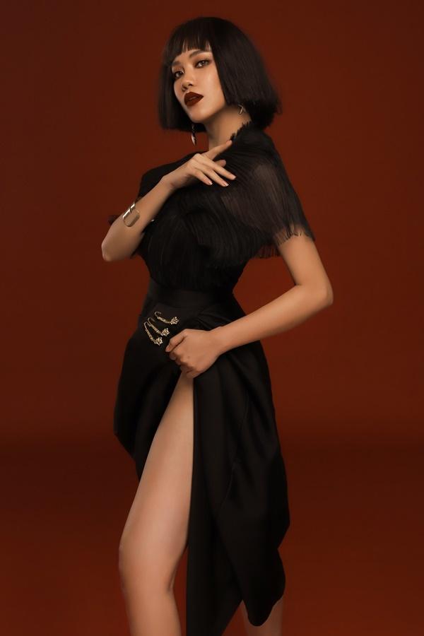 Á hậu Kim Duyên cuốn hút với tạo hình tóc ngắn