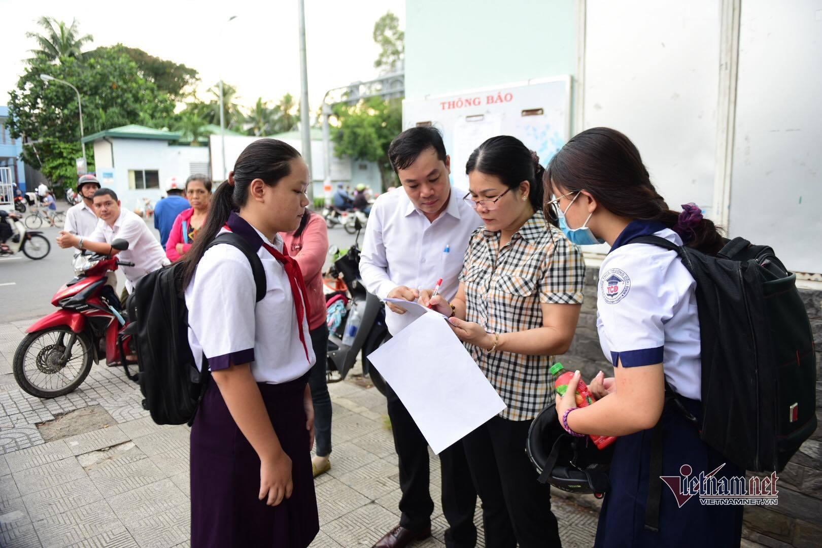 Phòng thi đặc biệt trong kỳ thi lớp 10 ở Sài Gòn