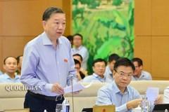 Bộ trưởng Công an sốt ruột khi vắng bóng hai dự án luật của ngành
