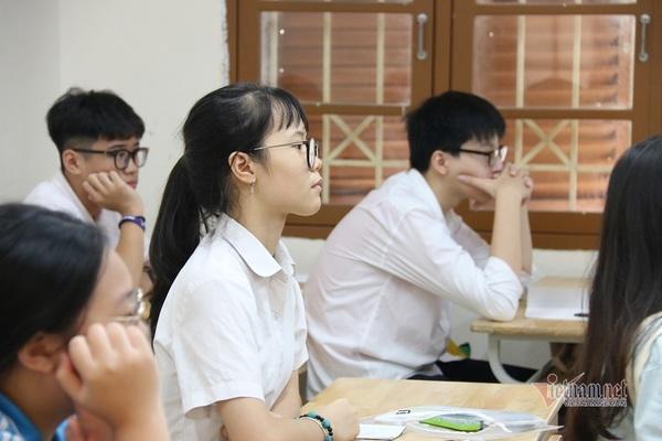 Công bố điểm chuẩn vào lớp 10 chuyên ở Hà Nội