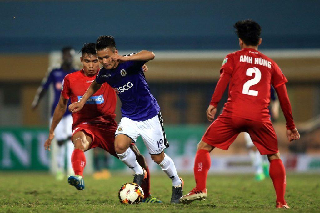 Hà Nội 0-0 Hải Phòng: Quang Hải đá chính (H1)