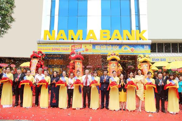 Thêm một chi nhánh Nam A Bank ở Đồng Tháp