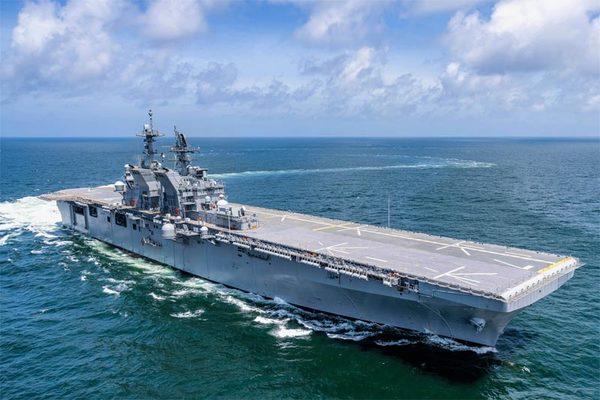 Sức mạnh tàu tấn công đổ bộ mới của hải quân Mỹ