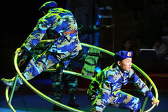 Circus federation offers special programme dedicated to navy soldiers