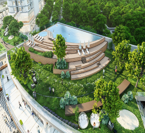 Tiện ích 'khủng' trong phân khu nghỉ dưỡng của Ecopark