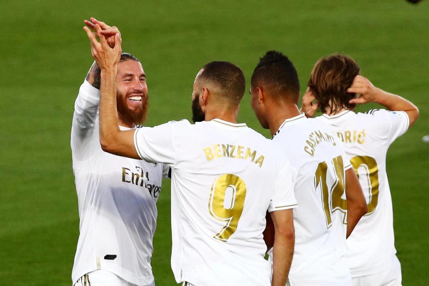 Real Madrid lần thứ 34 vô địch La Liga