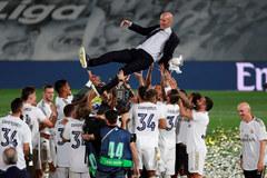 Real vô địch La Liga: Nghệ thuật chiến thắng của Zidane