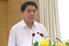 Chủ tịch Hà Nội Nguyễn Đức Chung chia sẻ ý tưởng quy hoạch sông Hồng