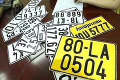 Cục CSGT: Đổi biển số xe ô tô sang màu vàng rất đơn giản