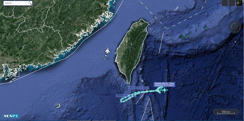 Mỹ tăng cường máy bay tới Biển Đông giám sát hoạt động của Trung Quốc