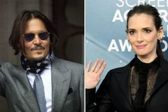 Johnny Depp was never violent to me, says ex-partner Winona Ryder