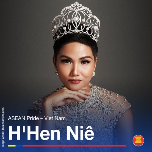 Miss Universe Vietnam 2017 H'Hen Nie honoured as 'Pride of ASEAN'