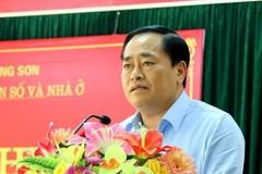 Ông Hồ Tiến Thiệu làm Chủ tịch UBND tỉnh Lạng Sơn