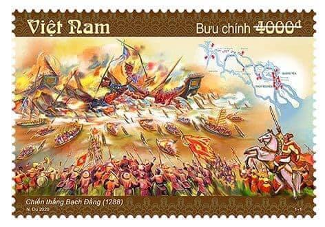 """Phát hành đặc biệt bộ tem bưu chính """"Chiến thắng Bạch Đằng (1288)"""""""
