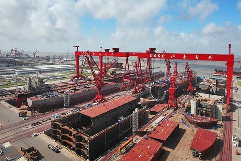 Trung Quốc tăng tốc đóng thêm tàu sân bay đối phó Mỹ