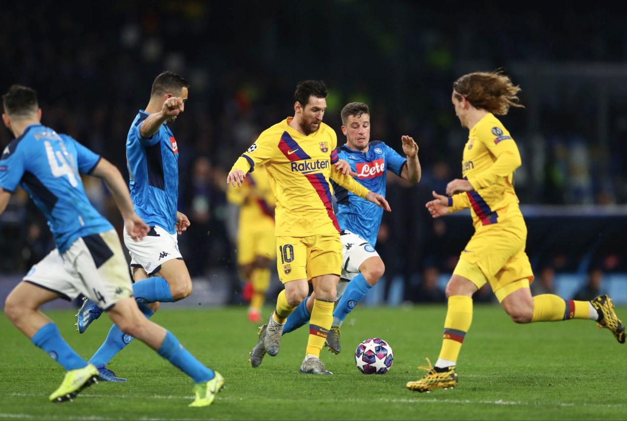 Messi nổi giận: 'Đá thế này, Barca đừng mơ C1!'