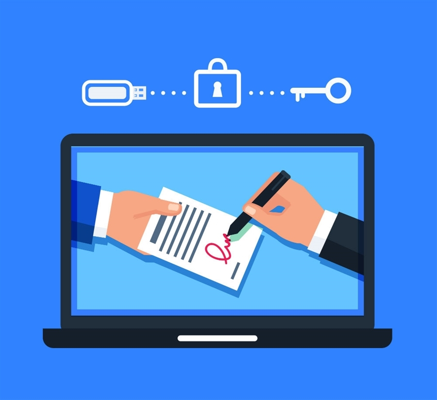 Bộ TT&TT hướng dẫn cung cấp dịch vụ ký số từ xa