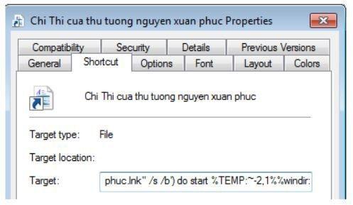 Nhóm tin tặc Panda mạo danh văn bản thông báo của Chính phủ