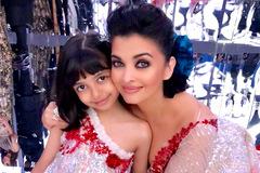 'Hoa hậu đẹp nhất mọi thời' Aishwarya Rai và con gái nhập viện
