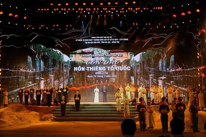 Văn nghệ sĩ hát kỷ niệm 73 năm ngày Thương binh liệt sĩ