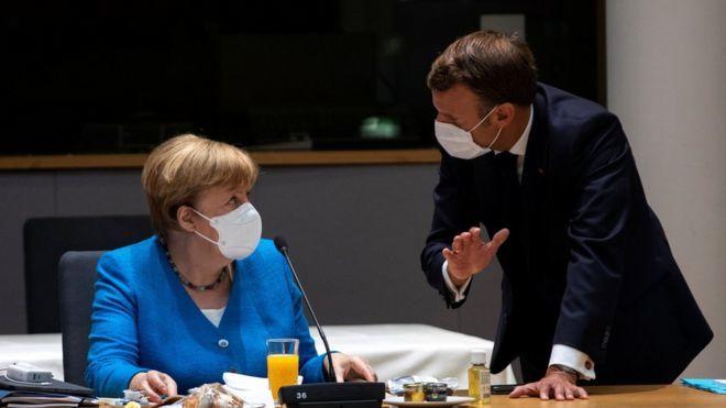 Coronavirus: EU leaders start third day of recovery talks