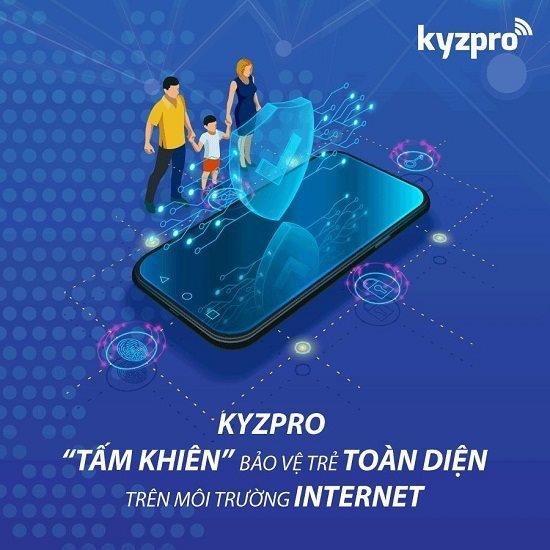Kyzpro của MobiFone giúp bảo vệ trẻ nhỏ an toàn trên mạng