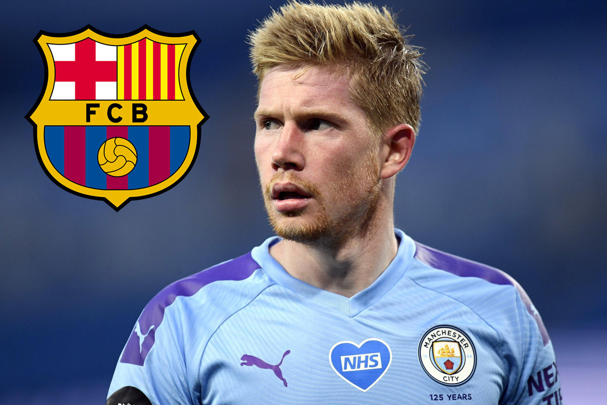 Messi ra yêu sách, buộc Barca ký De Bruyne