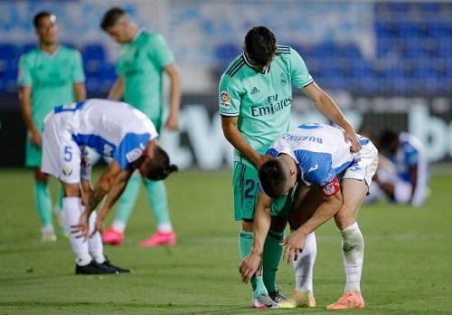 Tân vương Real Madrid tiễn Leganes rời La Liga