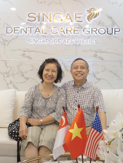 Bị tiểu đường bay từ Séc về Việt Nam trồng 10 răng Implant