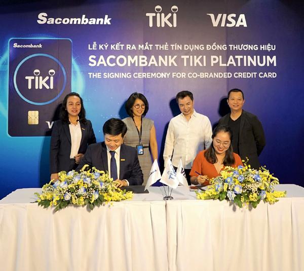70% thẻ Sacombank Tiki Platinum được kích hoạt sau 2 tháng ra mắt