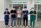 3 nam giới mắc Covid-19 khỏi bệnh, trong đó 1 người từng viêm phổi