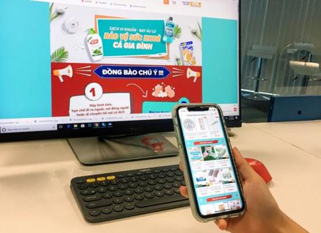 covid-19 impacts,omni-channel retail,e-commerce,vietnam retail