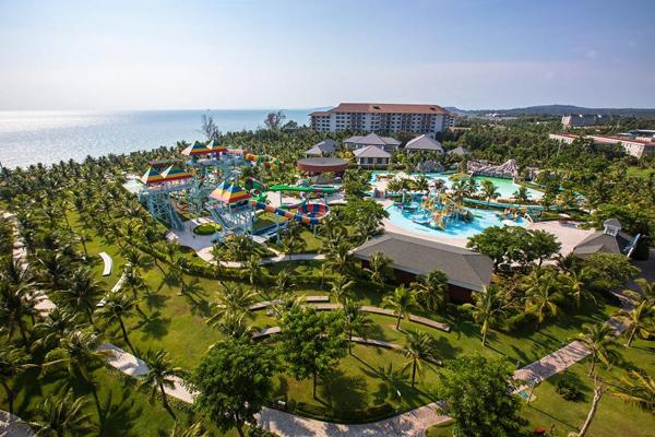 Tổ hợp nghỉ dưỡng và giải trí 5 sao giữa lòng đảo Ngọc