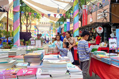 Children's book fair opens at HCMC book street