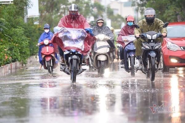 Miền Bắc mưa giông, nguy cơ xảy ra lũ quét ở một số tỉnh