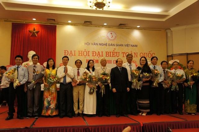 GS Lê Hồng Lý làm Chủ tịch Hội Văn nghệ dân gian Việt Nam