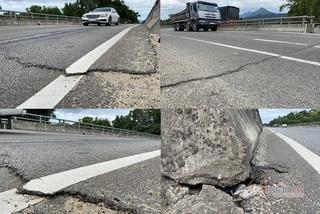 Yêu cầu sửa chữa dứt điểm đường nghìn tỷ chưa hết bảo hành đã hỏng