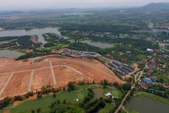 Tạm dừng san lấp hồ Đại Lải chờ kết luận của UBND tỉnh Vĩnh Phúc