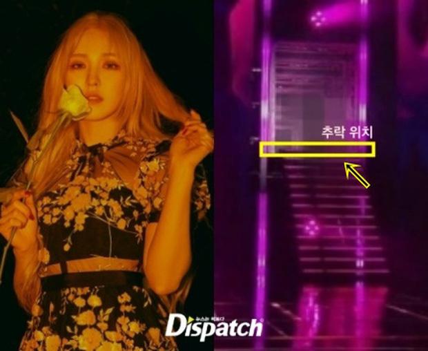Wendy nhóm Red Velvet ổn định sau cú ngã cầu thang 2,5m