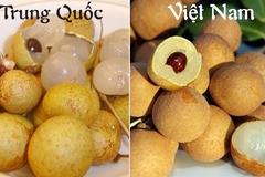 Nhìn những điểm này dễ nhận biết 5 loại quả Trung Quốc bán 'ngập' chợ