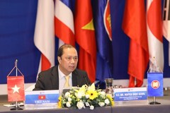 Online meeting talks post-2025 ASEAN Community Vision