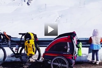 Phượt thủ nhí và hành trình đạp xe 4.000km lên Tây Tạng