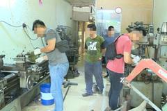 Triệt phá kho sản xuất súng quy mô ở đất Cảng