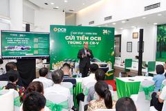 24 khách hàng trúng thưởng chương trình 'Gửi tiền OCB, trúng xe CR-V' đợt 1