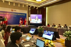 ASEAN+3 discusses COVID-19 response plans