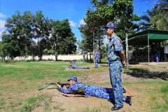 Hải đoàn 42 kiểm tra bắn đạn thật đáp ứng yêu cầu nhiệm vụ công tác Cảnh sát biển